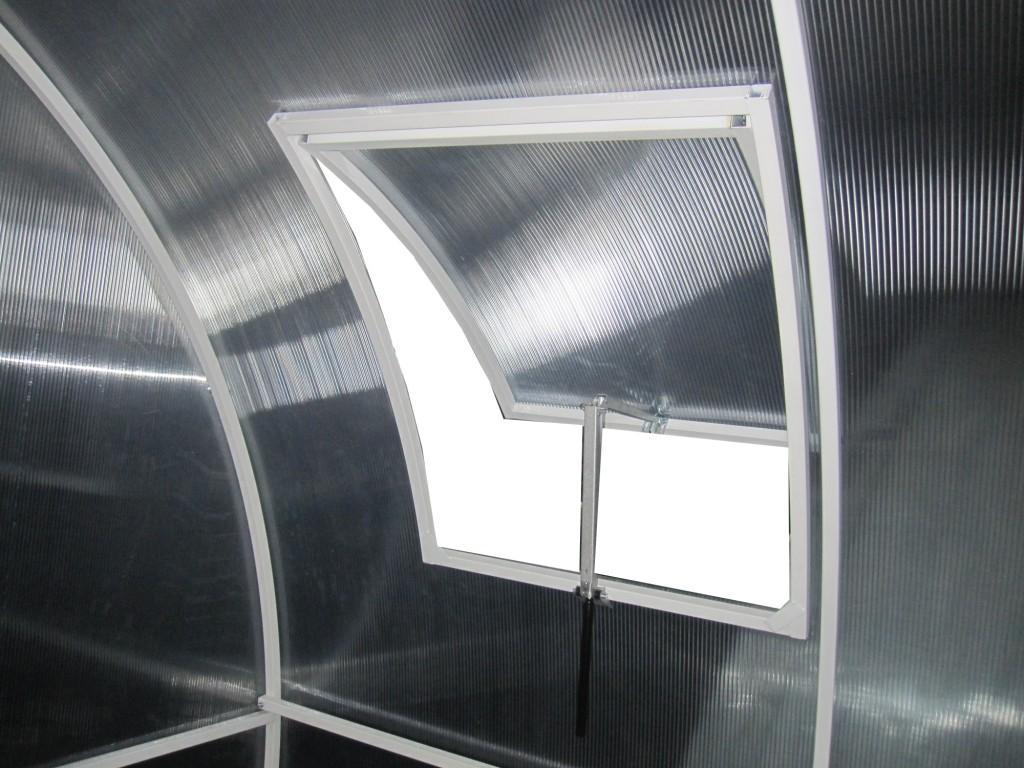 Автоматический подъем форточки в теплице